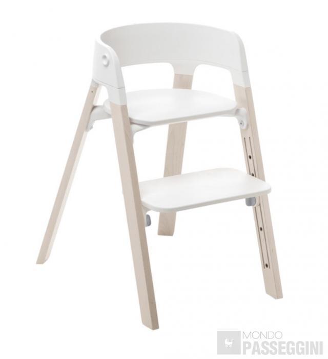 Stokke steps gambe di supporto in legno di faggio mondo for Gambe di legno