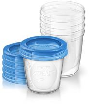 AVENT SET DA 5 VASETTI SISTEMA VIA 180ML