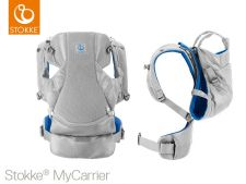 STOKKE MARSUPIO MYCARRIER FRONT AND BACK