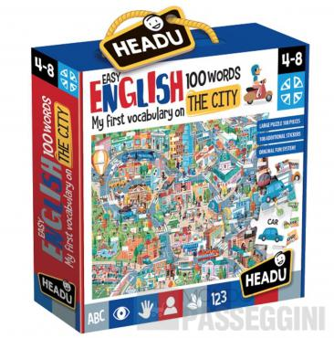 HEADU EASY ENGLISH 100 WORDS CITY