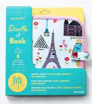 JAQ JAQ BIRD DOODLE IT BOOK PARIS