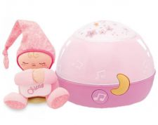 CHICCO GOODNIGHT STAR ROSA