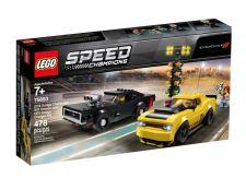 LEGO SPEED 2018 DODGE CHALLENGER SRT DEMON e 1970 DODGE...