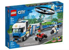 LEGO TRASPORTATORE DI ELICOTTERI DELLA POLIZIA 60244