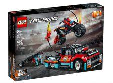 LEGO TRUCK E MOTO DELLO STUNT SHOW 42106