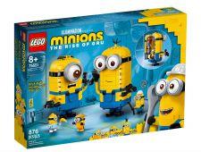 LEGO PERSONAGGI MINIONS E LA LORO TANA 75551