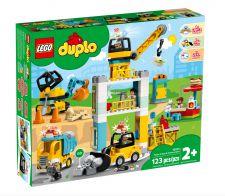 LEGO CANTIERE EDILE CON GRU A TORRE 10933