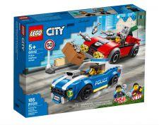 LEGO ARRESTO SU STRADA DELLA POLIZIA 60242