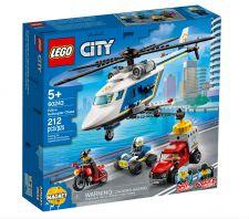 LEGO INSEGUIMENTO SULL'ELICOTTERO DELLA POLIZIA 60243