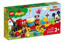 LEGO IL TRENO DEL COMPLEANNO DI TOPOLINO 10941