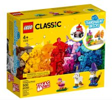 LEGO MATTONCINI TRASPARENTI CREATIVI 11013