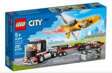 LEGO TRASPORTATORE DI JET ACROBATICO 60289