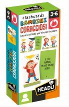 HEADU FLASHCARDS BAMBINI CORAGGIOSI IT27866