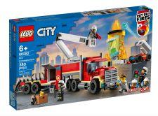 LEGO UNITà DI COMANDO ANTINCENDIO 60282