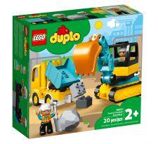 LEGO CAMION E SCAVATORE CINGOLATO 10931