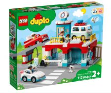 LEGO DUPLO AUTORIMESSA E AUTOLAVAGGIO 10948