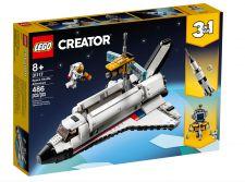 LEGO AVVENTURA DELLO SPACE SHUTTLE 31117