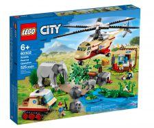 LEGO OPERAZIONE DI SOCCORSO ANIMALE 60302
